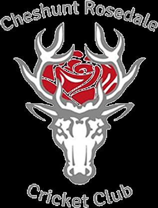 Cheshunt Rosedale Cricket Club logo
